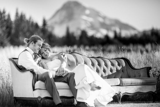 Mt. Hood B&B  Summer Wedding