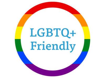 LGBTQ friendly badge
